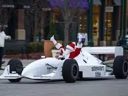 santa auto racer 32