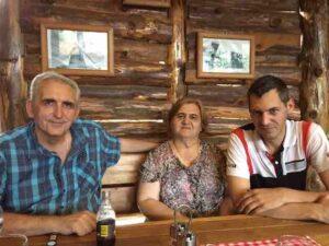 Boris with family