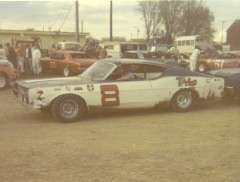 This is Darrell's Torino at Freeport in 1970. It's starting to show a little wear from when it was brand new in the above photo. (Dennis Piefer photo)