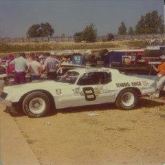 "This is Darrell's entry in the 1978 ""World 100"" at the Eldora Speedway in Rossburg, Ohio. (Dennis Piefer photo)"