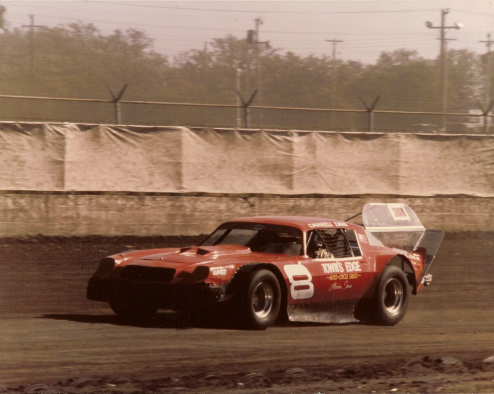 This was Darrell's new car for the 1980 season at Hawkeye Downs.