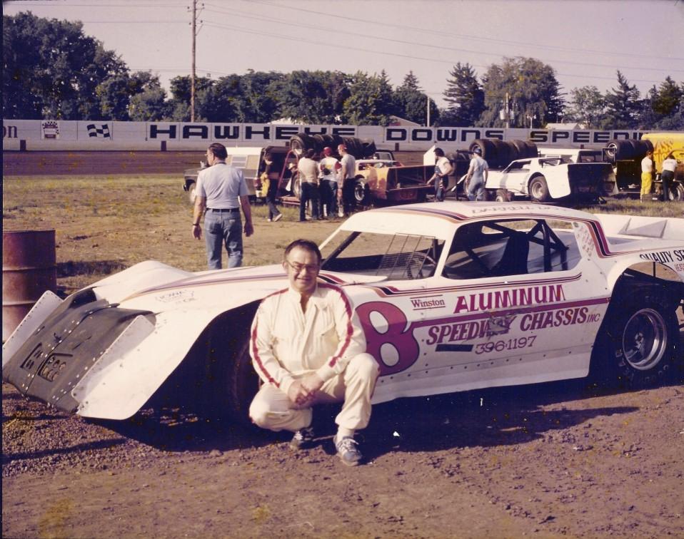Hawkeye Downs, Cedar Rapids, Iowa - 1983 (Randy Lewis photo)