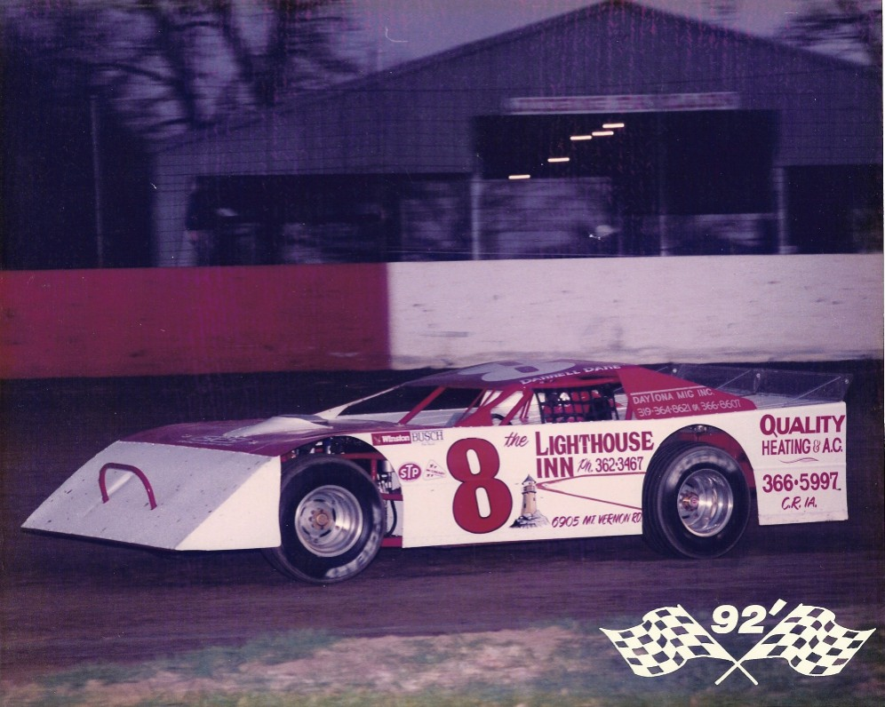 This was Darrell's car in his last year of racing in 1992. His cars were still immaculate when he retired at the age of 65. (Wayne Peterson photo)