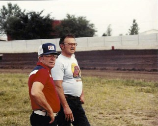 Darrell with Dick Strawser.