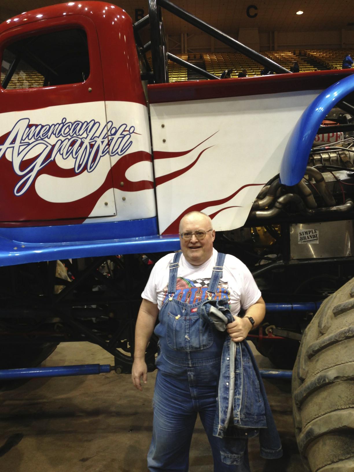 South Dakota's #1 trackchaser Butch Knouse.