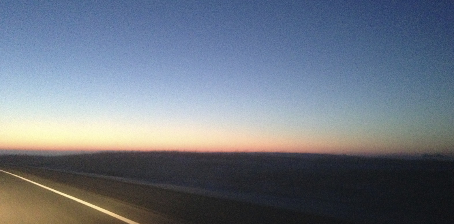 The sun was just rising over Minnesota when I completed my 606-mile overnight drive.