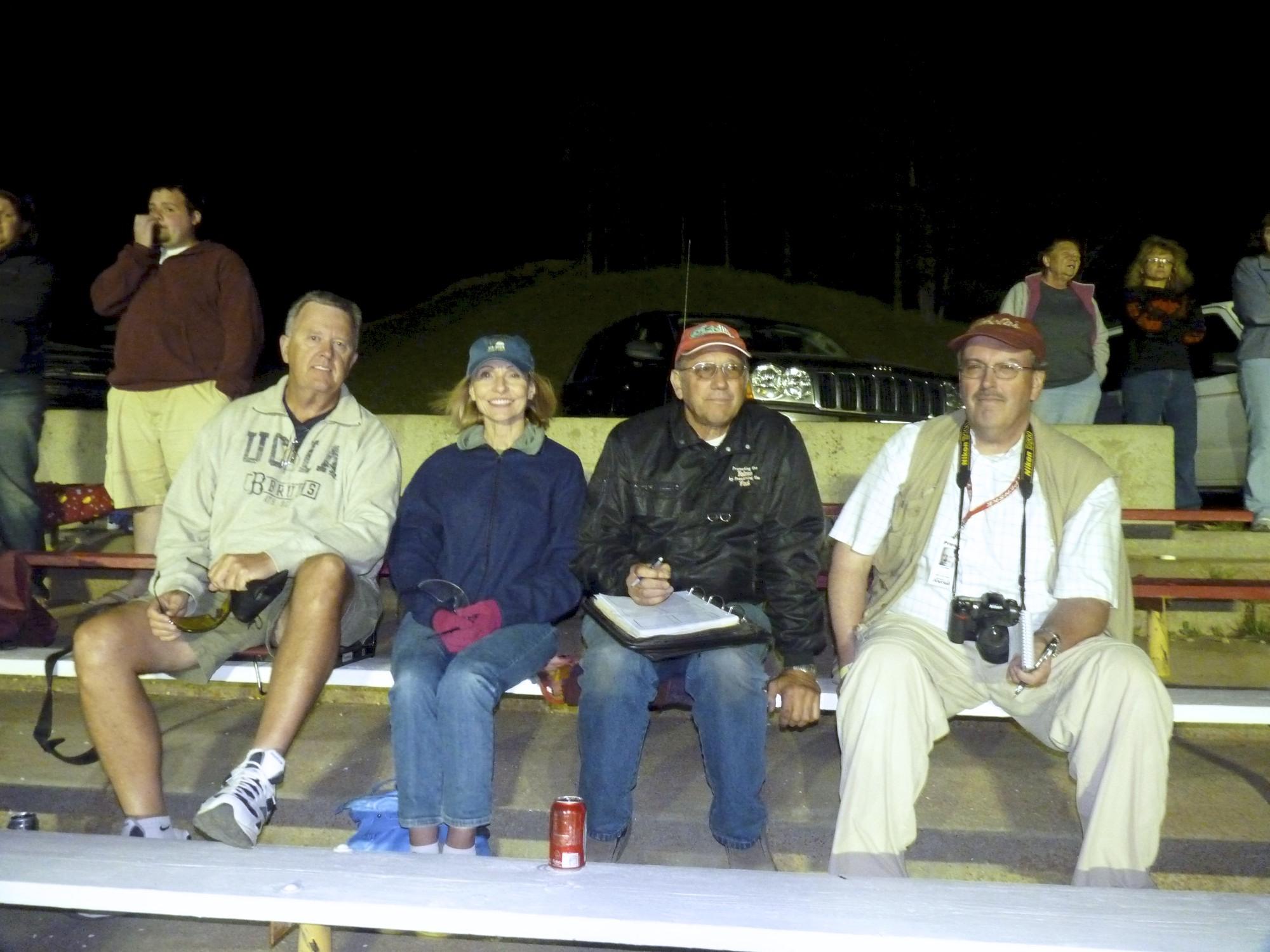 Randy, Carol, Ed and Jim Holland - sports reporter Rapid City Journal