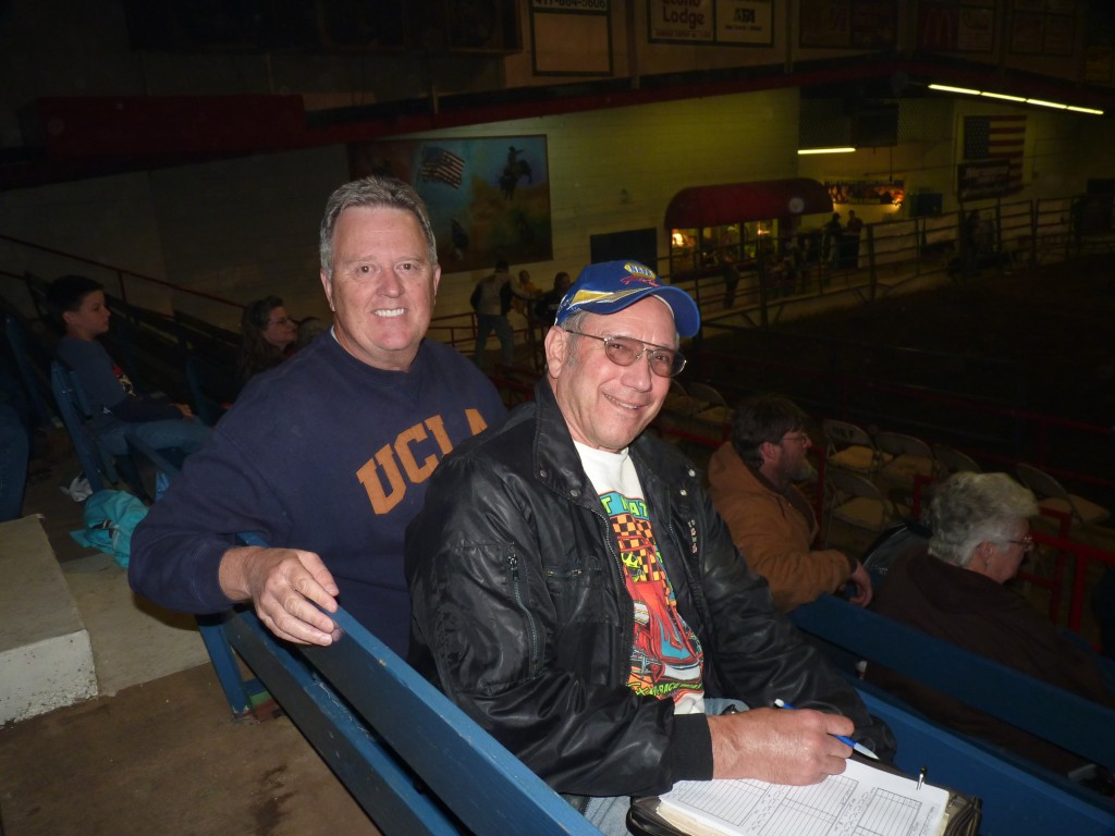 Ed and I joined up in Springfield, Missouri for a night of indoor figure 8 racing.