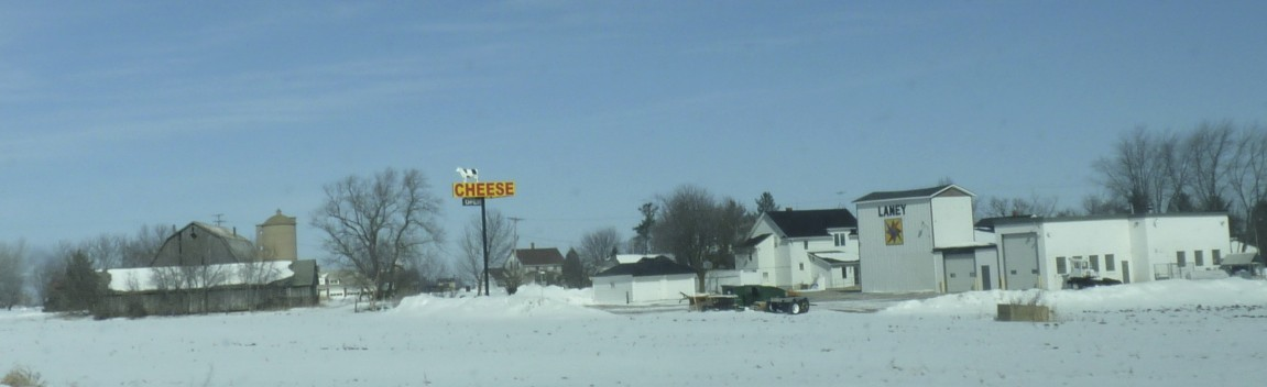 Wisconsin means cheese.