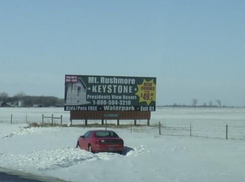 It was still technically winter in South Dakota.
