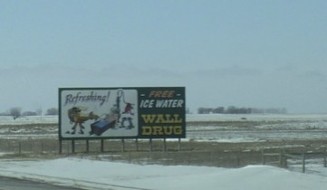 If you come to South Dakota don't miss the famous Wall Drug.