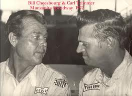 Bill Cheesebourg (left) with his Arizona rival Carl Trimmer.