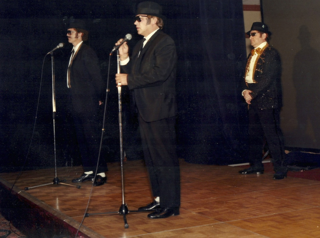 """This was one of the multiple occasions where I played """"Elwood"""" of the Blues Brothers on stage at our national sales meeting."""
