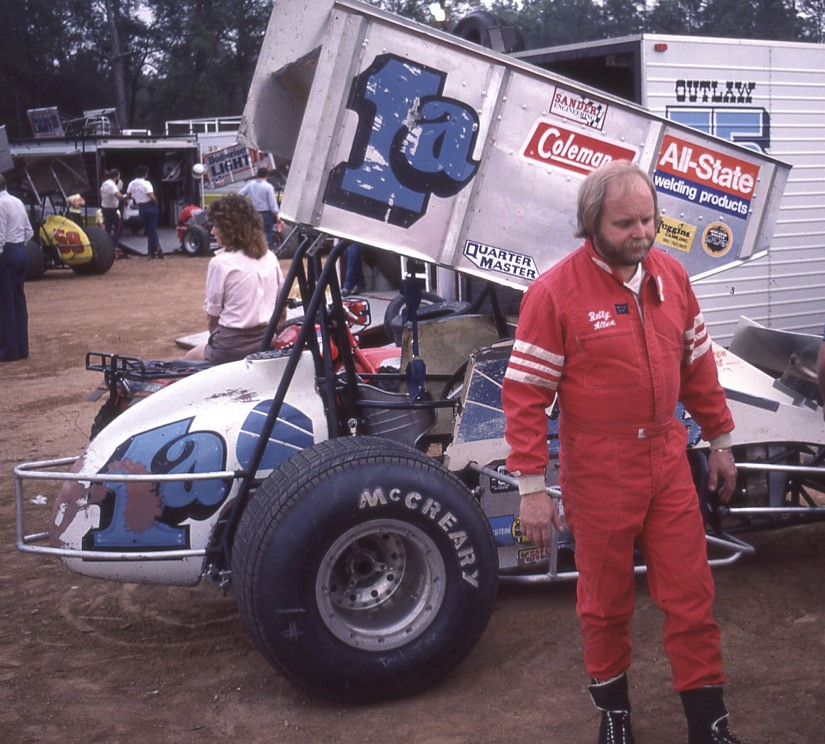 "I first started seeing Bobby ""Scruffy"" Allen race when he made the trip from the east to Ascot. I would see his race team sleeping overnight in highway rest areas when I traveled ""back east""."