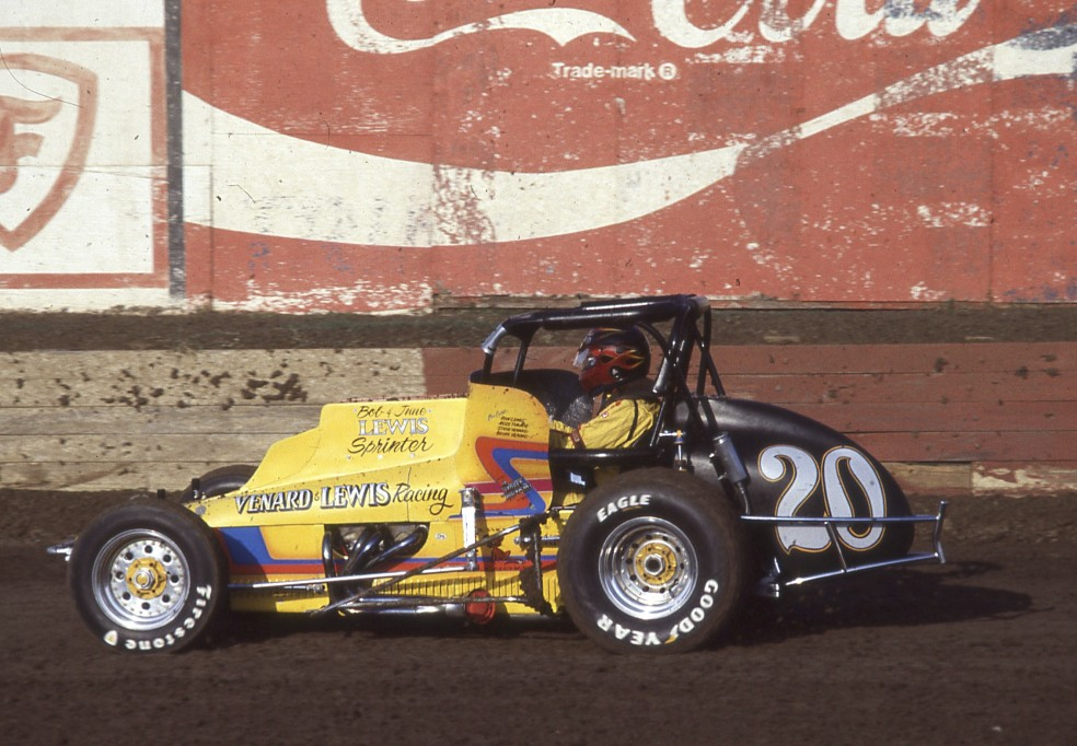 Buster Venard was my all-time favorite Ascot Park sprint car driver.