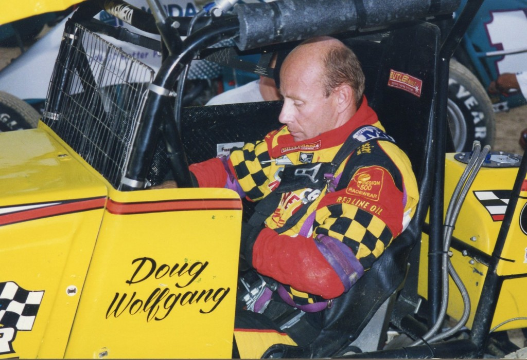 Doug Wolfgang from 1997 in Findlay, Ohio. Doug was one of the most calculating drivers ever. His autobiography is a great read.