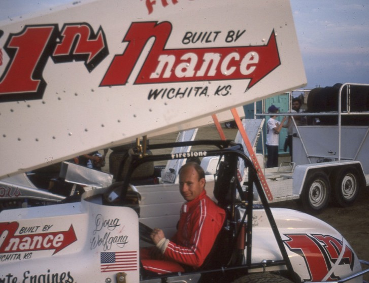 East Bay is one of my top 10 all-time favorite tracks. I've been there more than 20 times which isn't bad for a trackchaser. I like the late models best there but I've seen some great sprint car racing there too. This shot of Doug Wolfgang comes from East Bay.