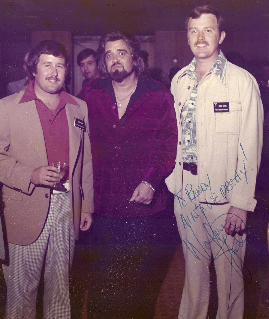 In business I had the chance to hang out with celebrities including Joey G. and Wolfman Jack!