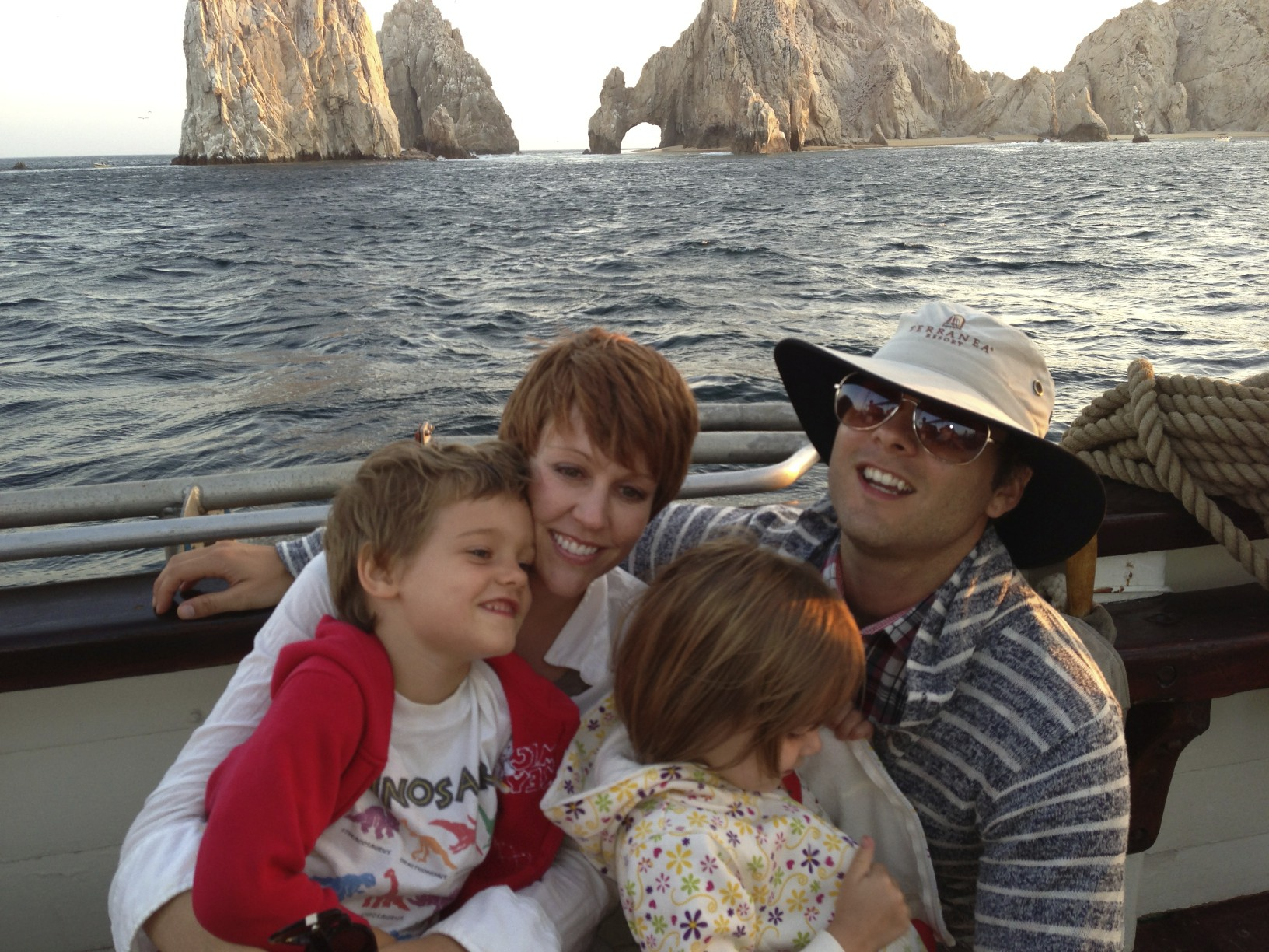 Mitch, Kristy, Astrid and James on our trip to Cabo San Lucas, Mexico.