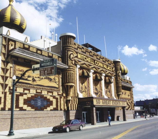 "So have you ever been to a ""Corn Palace""? What a place. I've been there more than once."