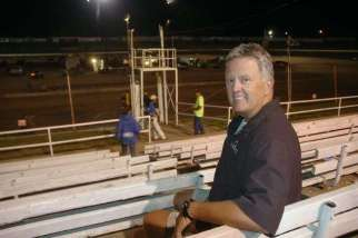 Randy Lewis at Black Hills Speedway