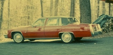 This was my 1980 Cadillac pictured at our home in Connecticut. I bought it in New Jersey.