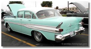 Our '57 Pontiac was dark forest green. With a 348 cubic inch engine it was HOT!