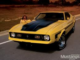 This is what our '72 Mustang looked like.