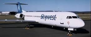 SkyWest plane