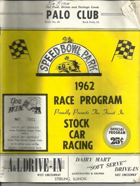 Sterling 1962RaceProgram