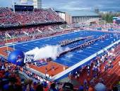 """The """"Blue"""" field at Boise State University."""