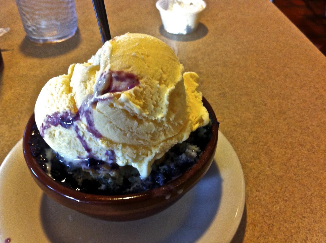 However, I didn't skimp on dessert!