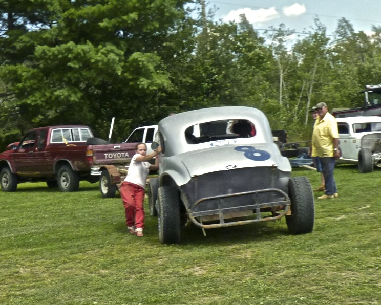 Can Erica stop this runaway racecar?
