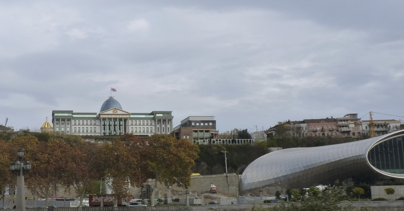 Presidential Palace and concert hall currently under construction
