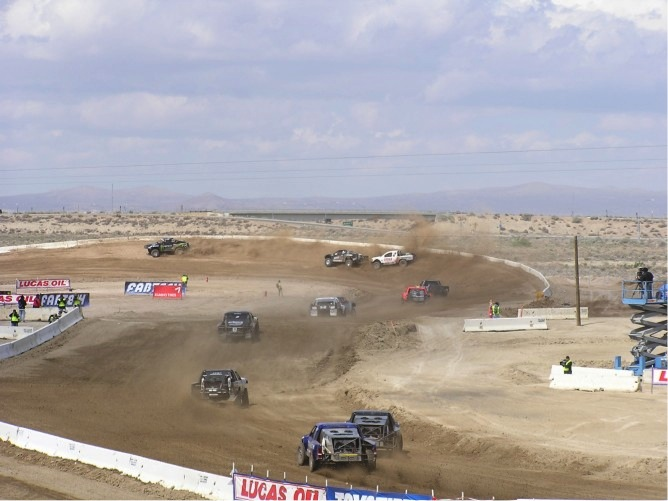 I love stadium off-road racing.