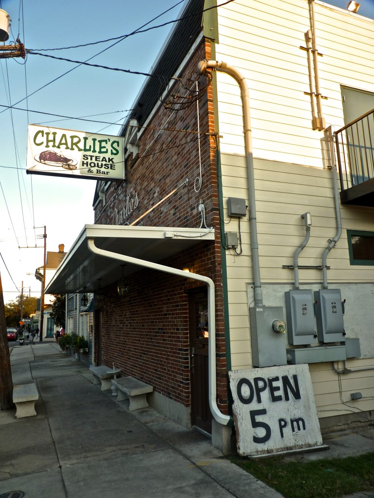 When you visit the NOLA Motorsports Park you've gotta go to Charlie's Steakhouse!