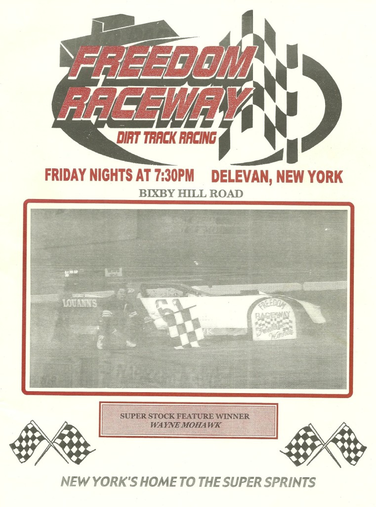 Folks, from a numbers point of view few tracks have held much significance.  However, the Freedom Raceway at my 500th track was one of my most special milestones.