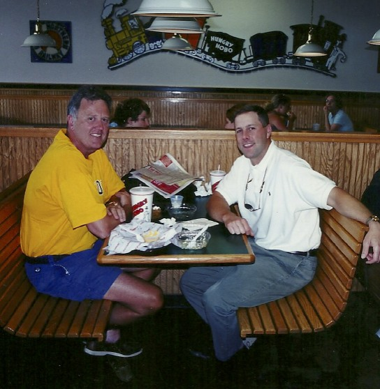 When I'm near the Quad Cities (IL) you'll find me at a Hungry Hobo restaurant with owner Pryce Boeye.