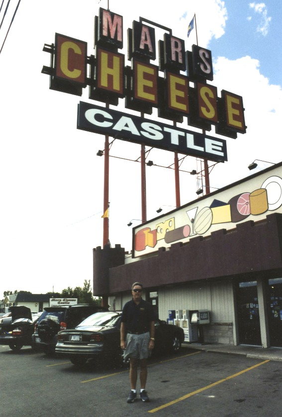 We never came back from the Milwaukee races a single time without stopping at the Mars Cheese Castle. When I pass it today I still stop!