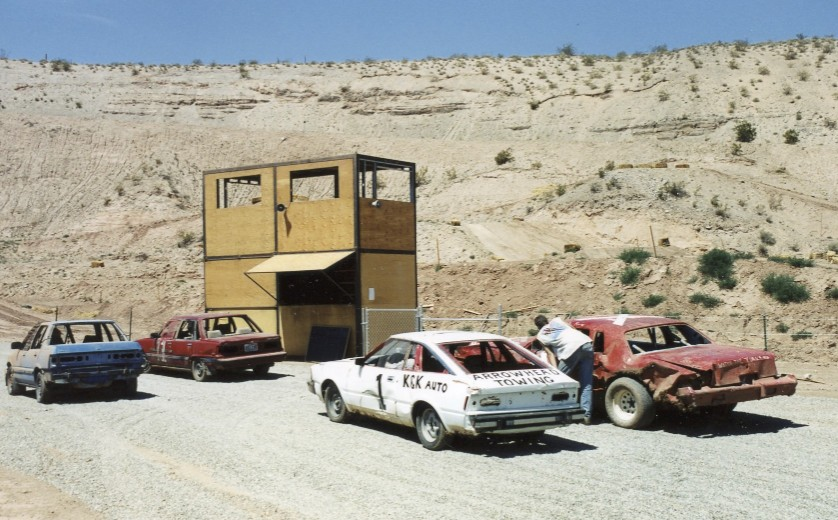 The Mesquite Raceway was a short-lived effort right on the border of Nevada and Arizona.