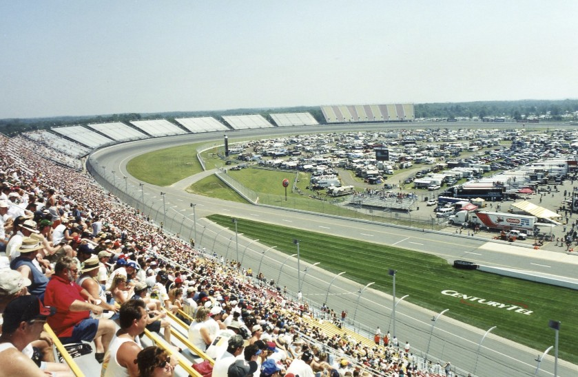 I was up to what was then called Michigan Speedway for the IROC races.