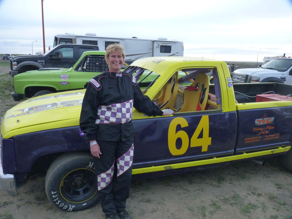 Medicine Hat Speedway, all the way up in Alberta, Canada...a very impressive place.