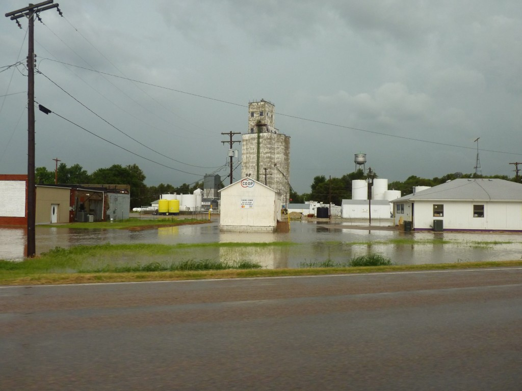 No one will ever know how serious today's Kansas storm was as I drove down state highway 61,