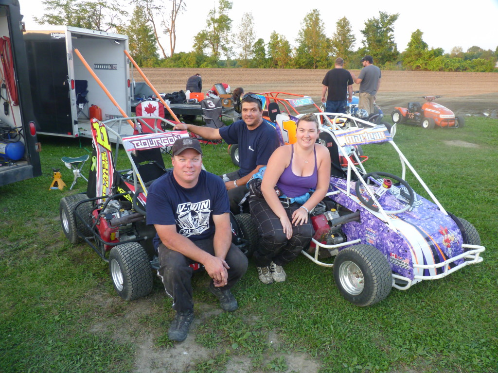 These folks build this beautiful new racer to run on Ontario's dirt tracks.