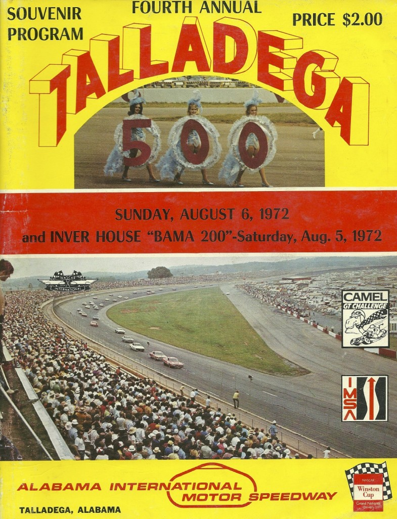 My stepfather got me this program when he went to Talladega in 1972. I didn't make it there until 1993!
