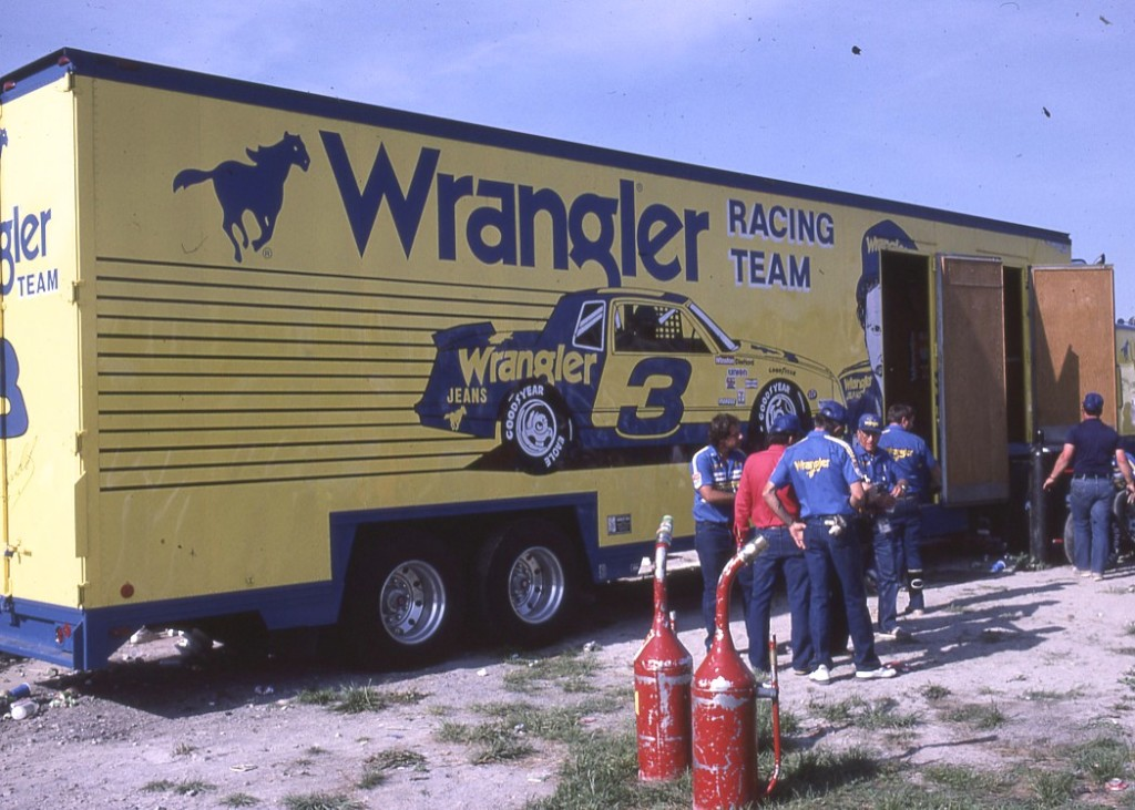 Racers do a lot better with big name sponsors.