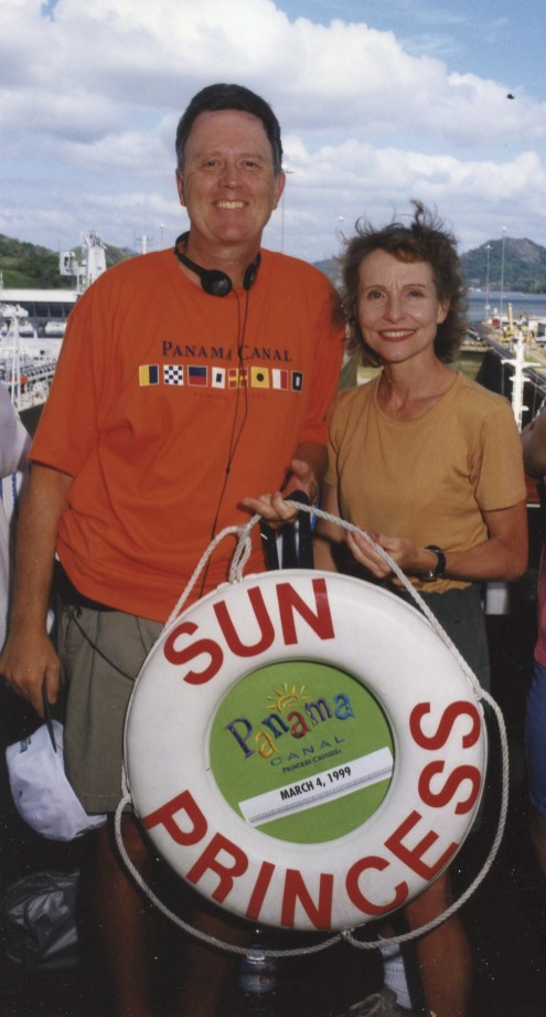 Carol and I have always tried to get away a few times each year like we did on this Panama Canal cruise.