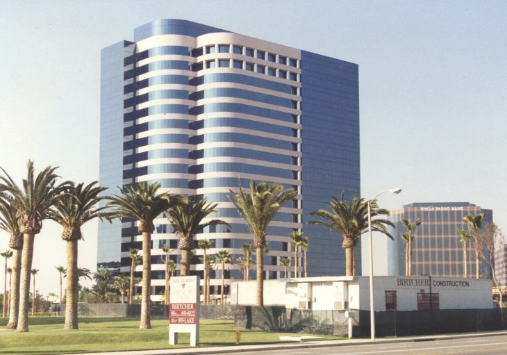 This was my office building in 1991.  Can you see me peeking out from the 11th floor?
