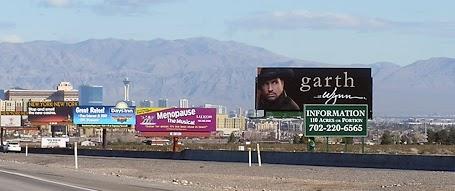 Garth billboard