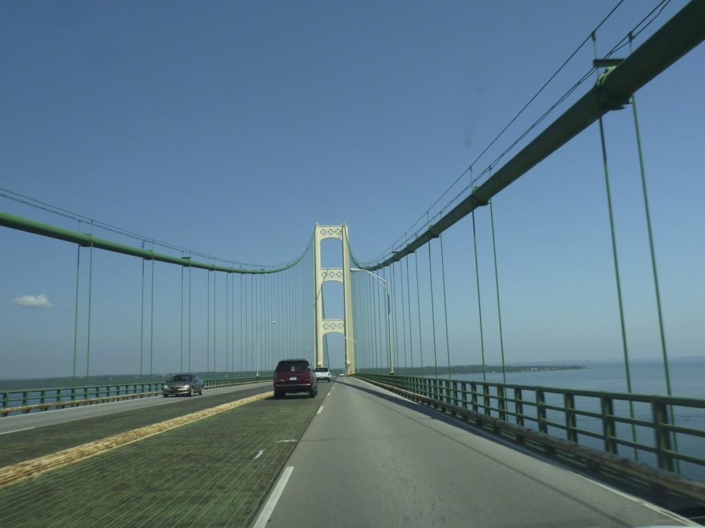 Mackinac Bridge to the U.P.